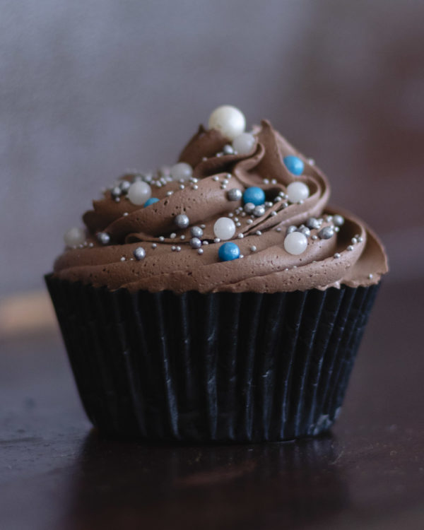 classic chocolated decorated