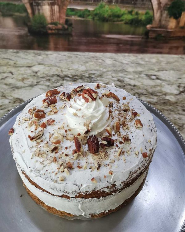 carrot and nut cake