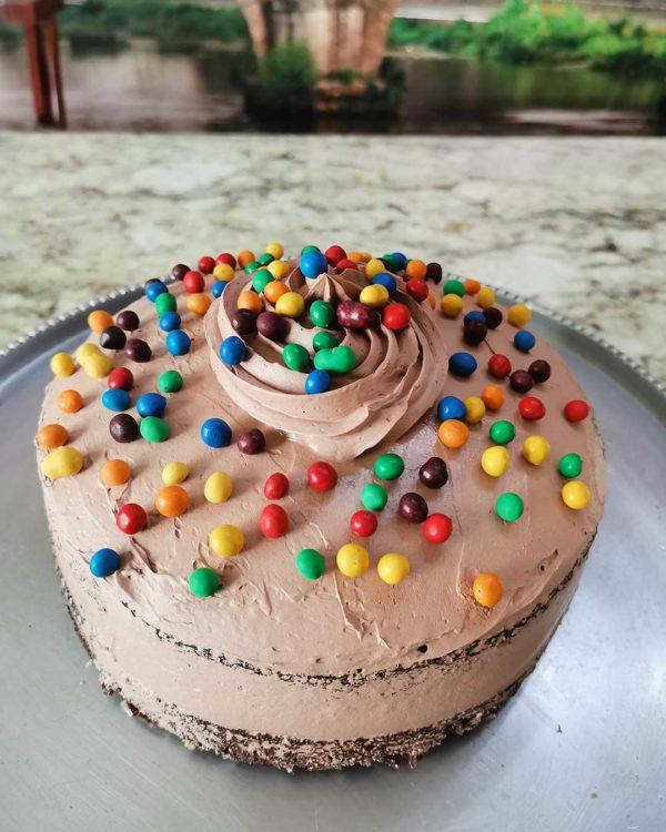 mini choc astros cake