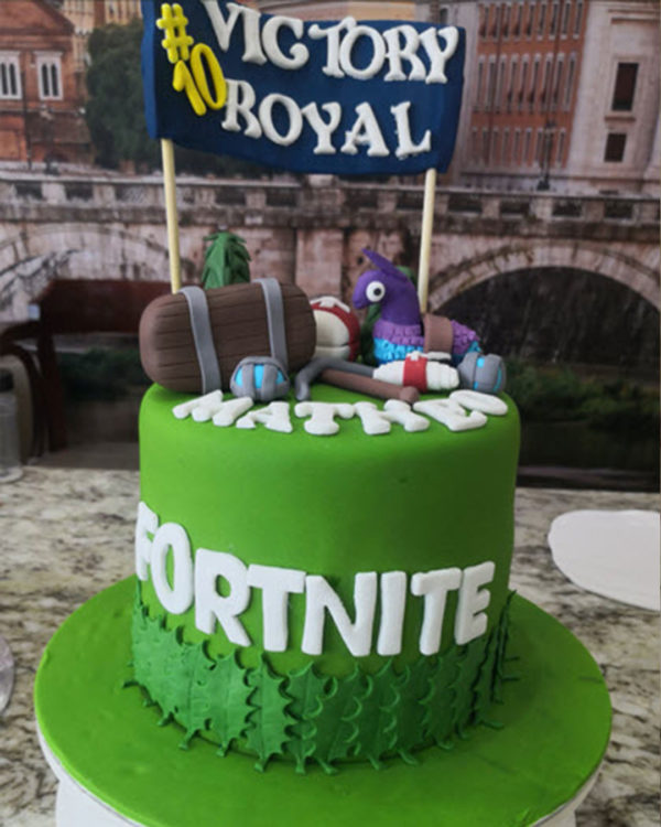 Fortnite Cake 1