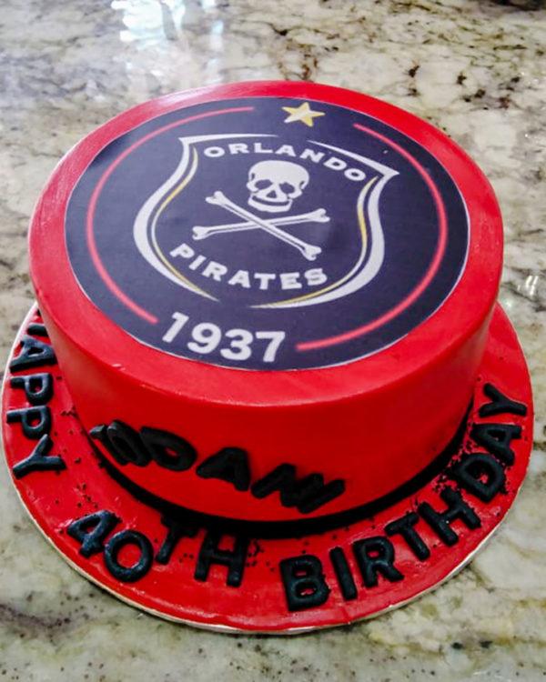 Orlando Pirates Cake