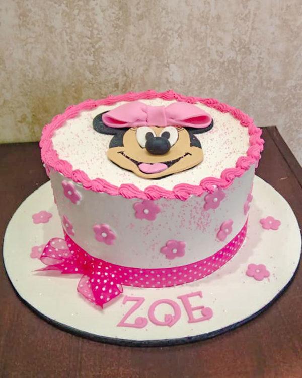 minni mouse cake