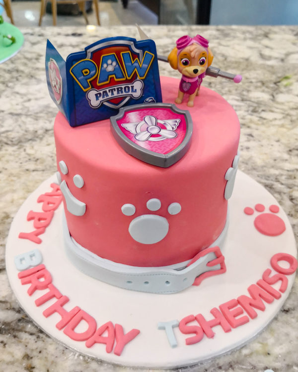 Paw Patrol Cake Skye