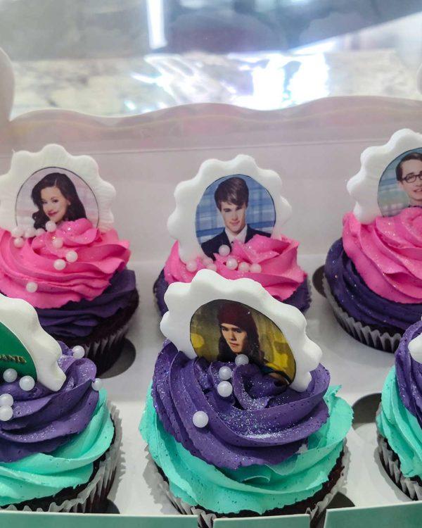 Photo Frame Cupcakes