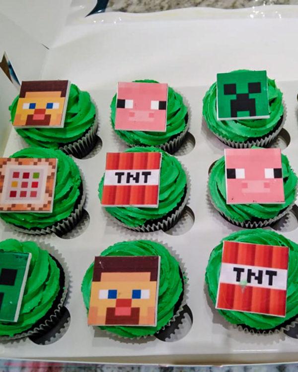 tnt cupcakes