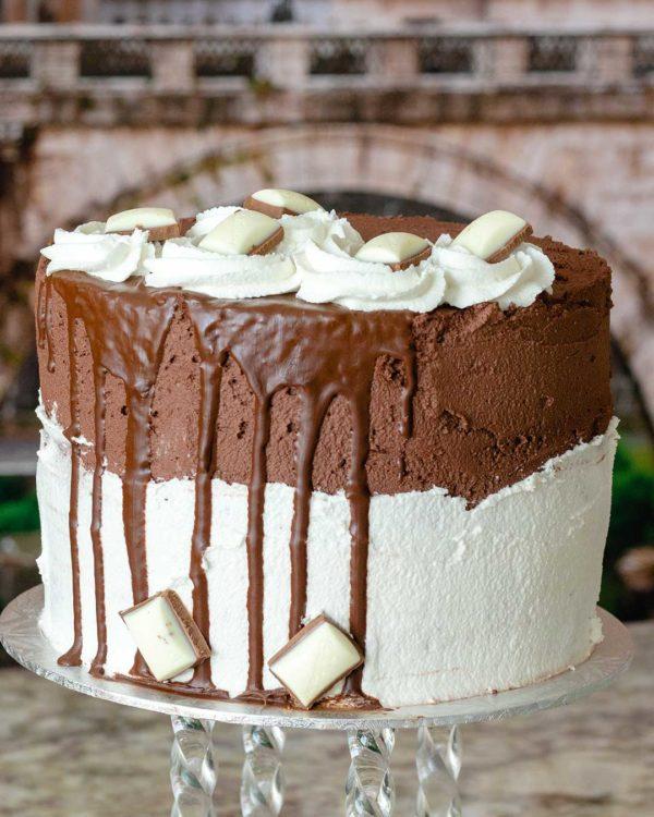 top deck buttercream cake